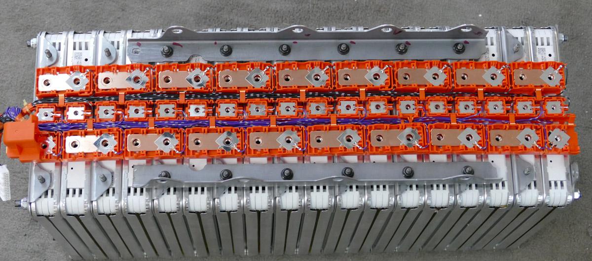 Vectrix Open on Nissan Leaf Battery